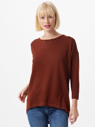ONLY T-shirt 'ELCOS' en bordeaux, Vue avec modèle