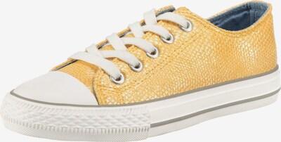 CANADIANS BY INDIGO Sneaker in gelb / weiß, Produktansicht