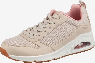 SKECHERS Sneaker 'Uno' in kitt / altrosa, Produktansicht