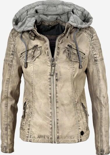 KangaROOS Lederjacke in beige / grau, Produktansicht