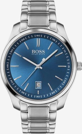 BOSS Uhr 'Circuit' in blau / silber, Produktansicht
