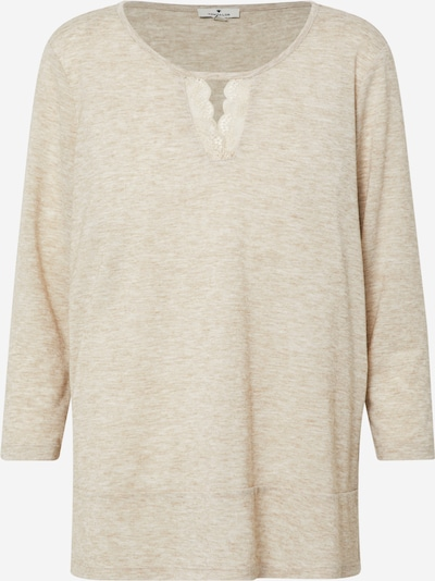 TOM TAILOR Shirt in beige, Produktansicht