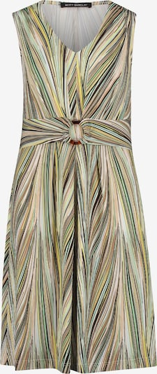 Betty Barclay Shirtkleid ohne Arm in beige / grün, Produktansicht