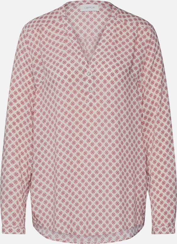 Cartoon Blouse in de kleur Pink / Wit, Productweergave