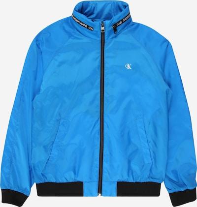 Calvin Klein Prehodna jakna | neonsko modra barva, Prikaz izdelka