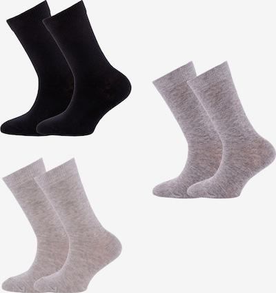 EWERS Socken in grau / schwarz, Produktansicht