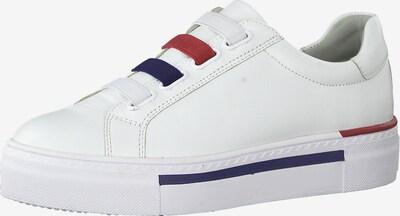 TAMARIS Sneakers laag in de kleur Blauw / Rood / Wit, Productweergave