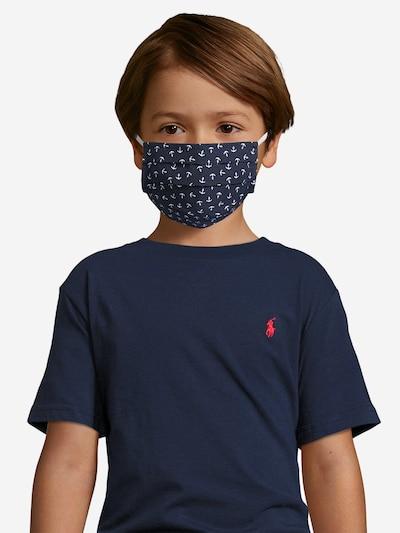 Mey Stoffmaske in nachtblau: Frontalansicht