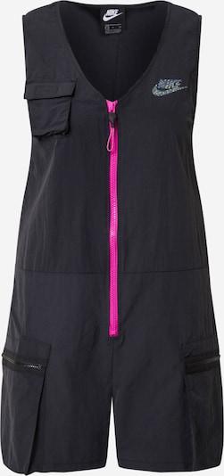 Nike Sportswear Kombinesoon 'W NSW ICN CLSH ROMPER' must, Tootevaade