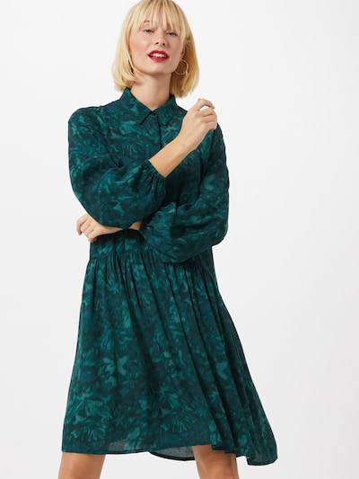 mbym Kleid 'Nagisa' in grün, Modelansicht