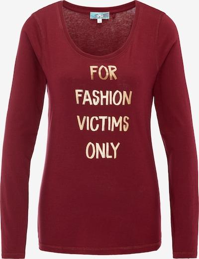 MYMO T-shirt en rouge: Vue de face