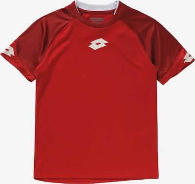 LOTTO Trikot 'Delta' in rot / dunkelrot / weiß, Produktansicht
