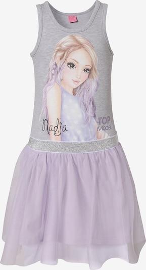 TOP MODEL Kleid in graumeliert / mischfarben, Produktansicht