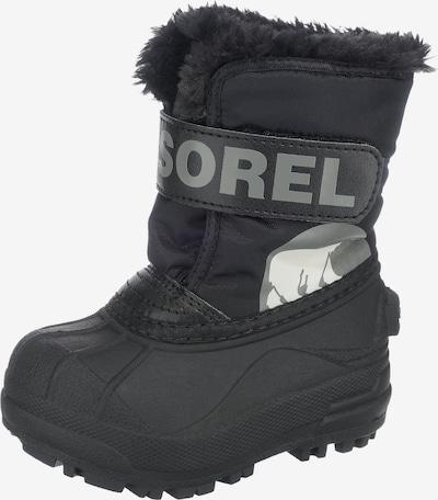 SOREL Winterstiefel 'SNOW COMMANDER' in grau / schwarz, Produktansicht