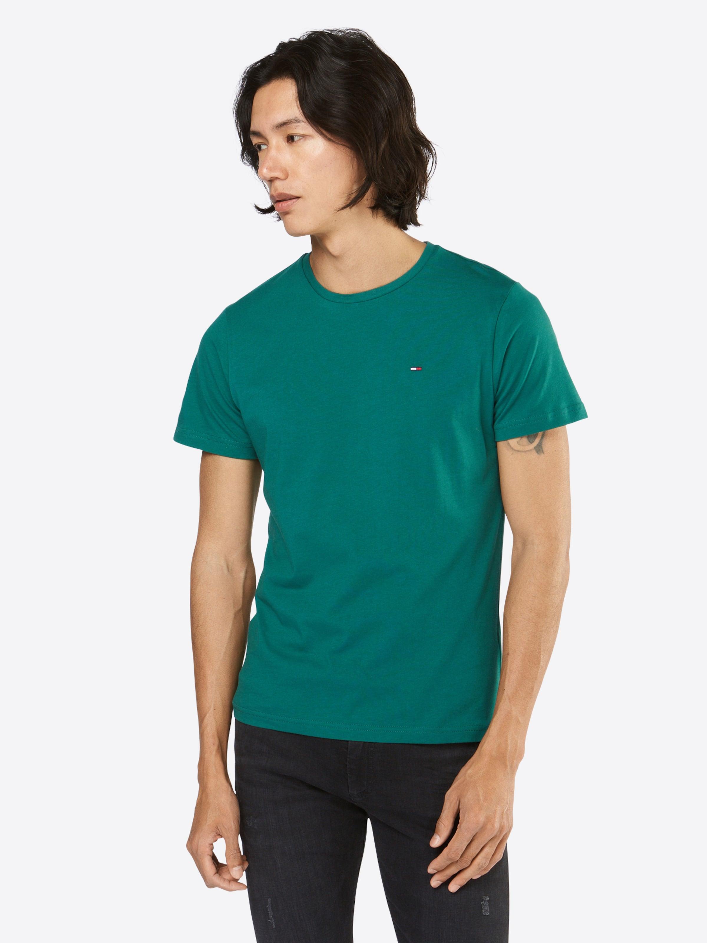 Tommy Jeans T-Shirt 'TJM BASIC REG CN KNIT S/S 16' Beeile Dich cc9cam