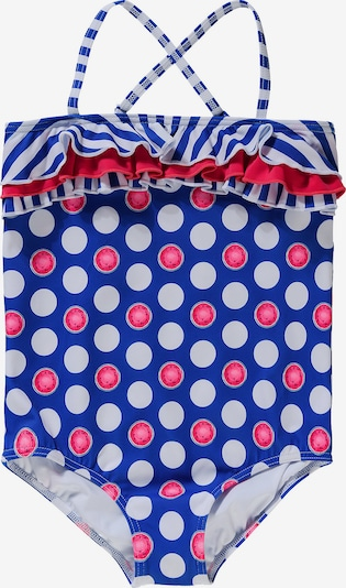 FASHY Badeanzug in blau / weiß, Produktansicht