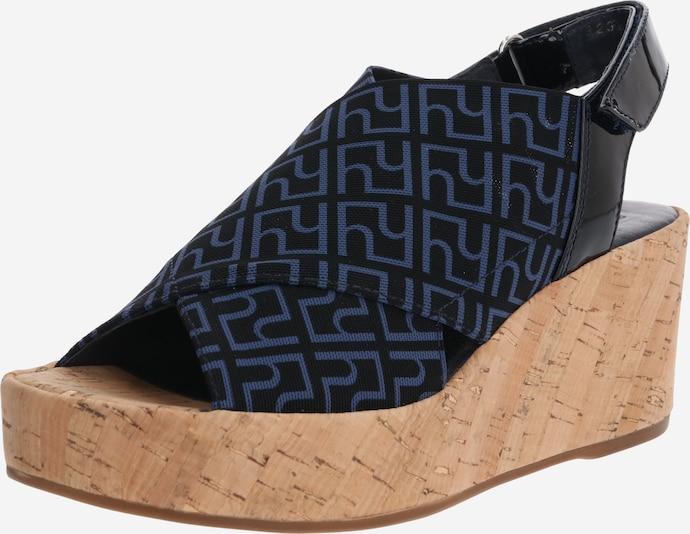 Högl Sandały z rzemykami w kolorze niebieskim wZ05FLJ2