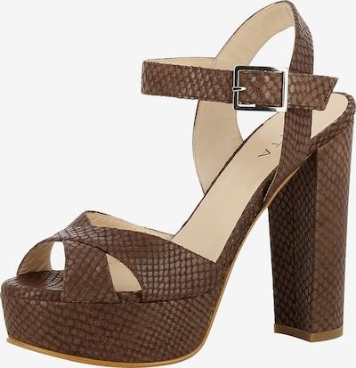 EVITA Sandale 'LANA' in braun, Produktansicht