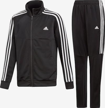 ADIDAS PERFORMANCE Tracksuit 'YB TS Tiro' in black / white, Item view
