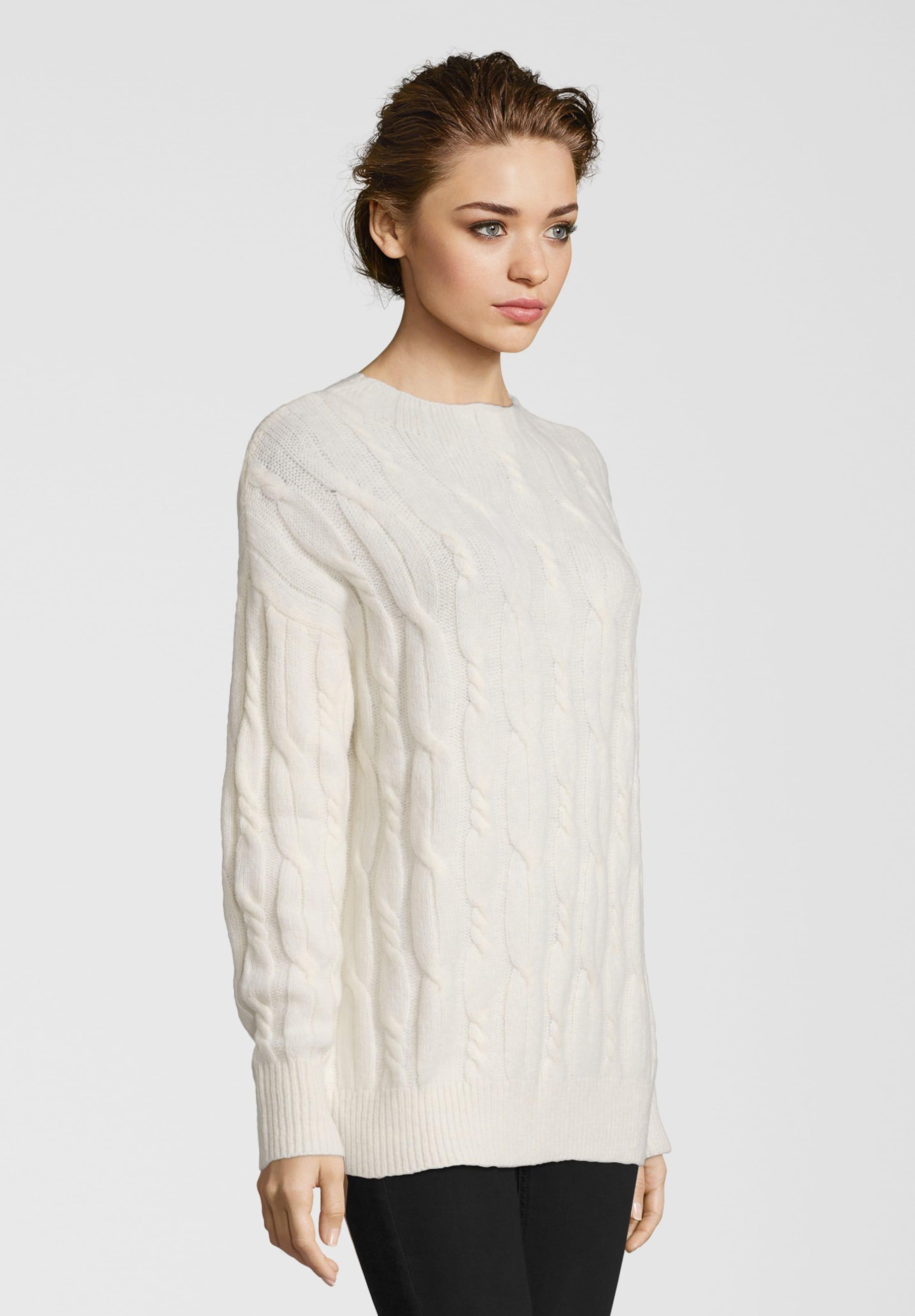 Frogbox Pullover Weiß In Muster Mit Zopfstrick xoQeWrdCEB
