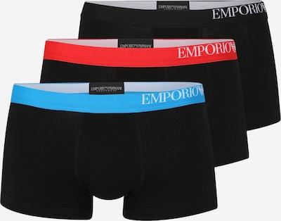 Emporio Armani Trunks in blau / rot / schwarz, Produktansicht