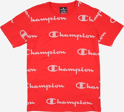 Champion Authentic Athletic Apparel T-Shirt 'CREWNECK T-SHIRT' en rouge: Vue de face