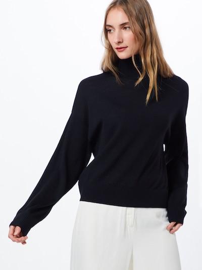 Samsoe Samsoe Pullover 'Kleo turtleneck 11265' in schwarz, Modelansicht