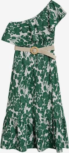 MANGO Strandjurk in de kleur Groen, Productweergave