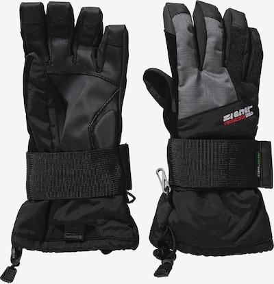 ZIENER Snowboardhandschuhe 'MERFY' in grau / schwarz, Produktansicht