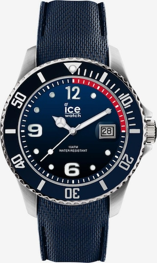 ICE WATCH Quarzuhr in blau / dunkelblau / rot, Produktansicht