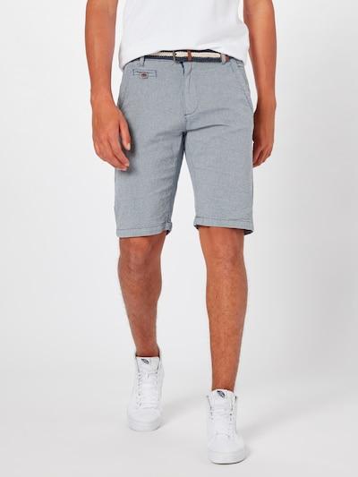 INDICODE JEANS Chino-Shorts 'Royce' in hellblau, Modelansicht