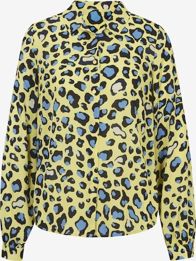 heine Blusa en azul / amarillo / negro, Vista del producto