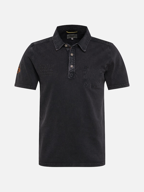 Camel Active shirt T Foncé En Gris rr6xvpqdPw