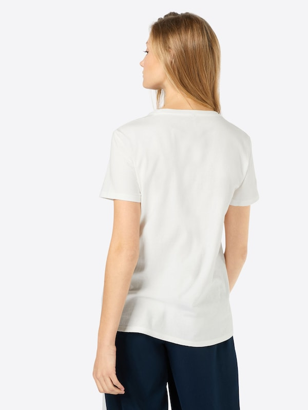 ONLY Shirt mit Farbakzent