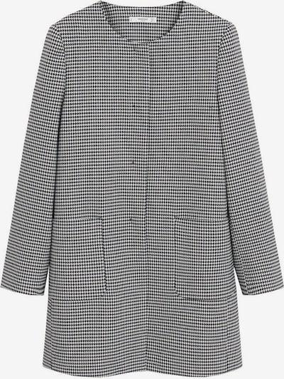 Palton de primăvară-toamnă 'Bombin' MANGO pe negru / alb, Vizualizare produs