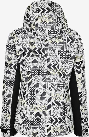 Sportinė striukė iš CHIEMSEE , spalva - juoda / balta: Vaizdas iš galinės pusės