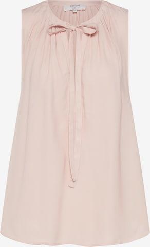 Cream Blouse 'Vera' in Roze