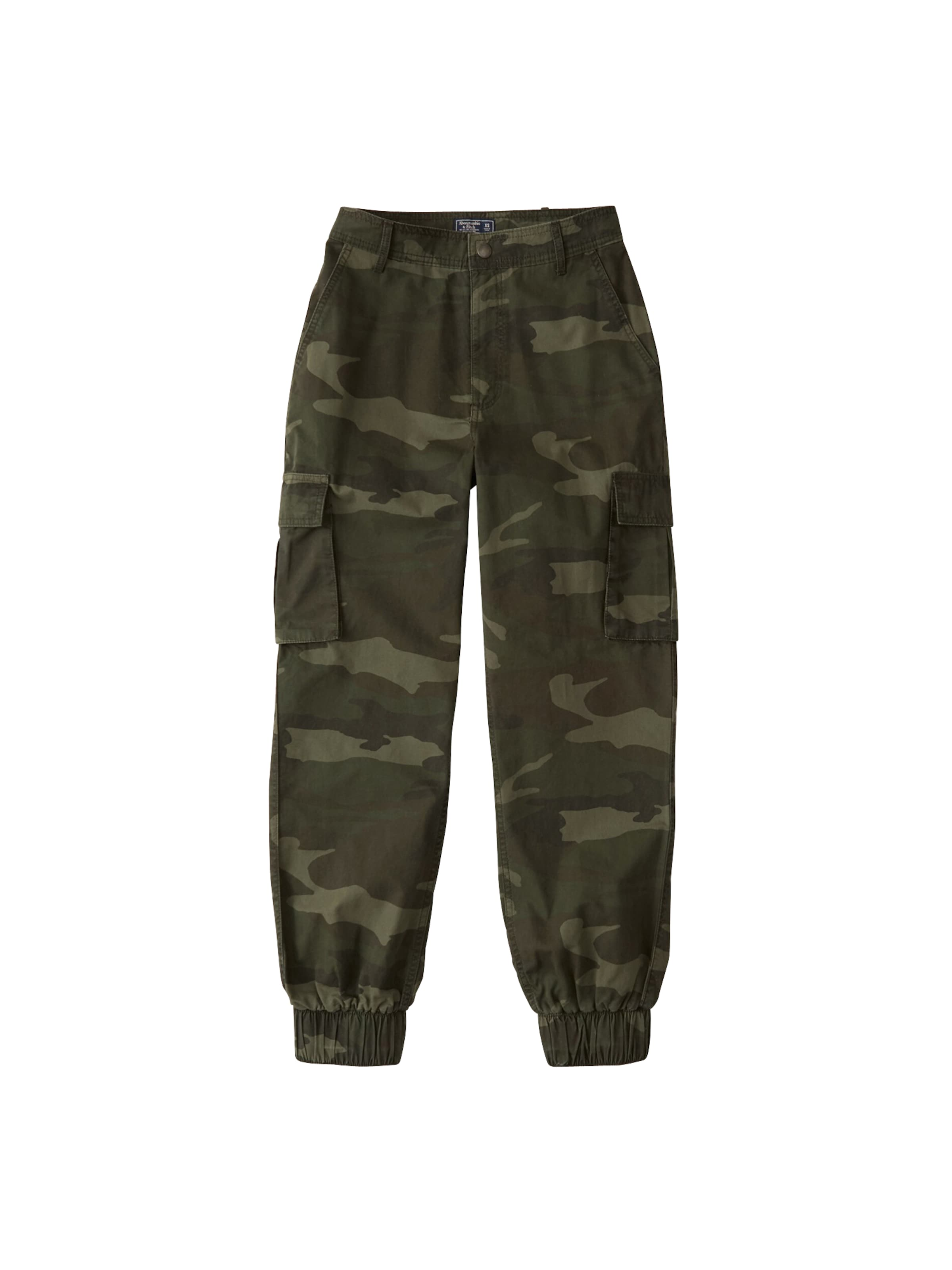 'cargo VertFoncé Fitch Pantalon Abercrombieamp; En Jogger' Y7gbfv6y
