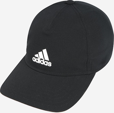 ADIDAS PERFORMANCE Sportpet in de kleur Zwart / Wit, Productweergave
