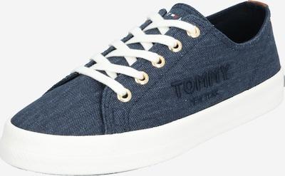TOMMY HILFIGER Sneaker 'TOMMY BASIC SNEAKER' in dunkelblau / weiß, Produktansicht