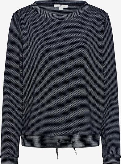 TOM TAILOR Sweatshirt in schwarz, Produktansicht