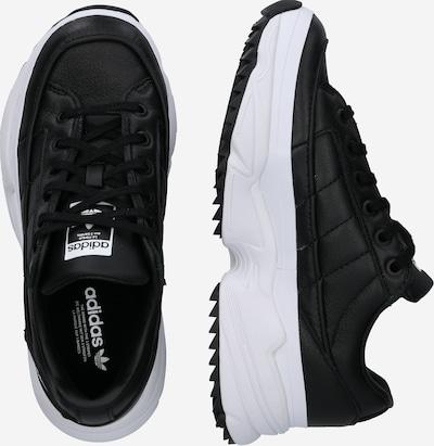 ADIDAS ORIGINALS Sneaker 'KIELLOR W' in schwarz / weiß: Seitenansicht