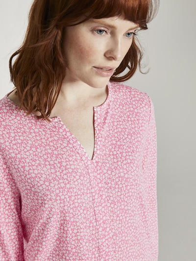 TOM TAILOR Shirt in pink: Frontalansicht