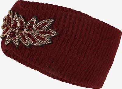 ONLY Stirnband 'ANGIE' in weinrot, Produktansicht