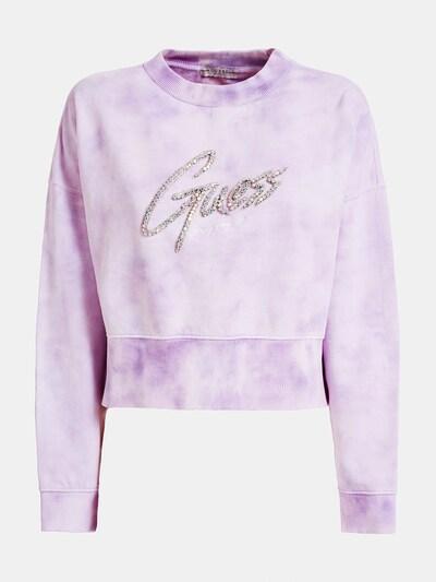 GUESS Sweatshirt in lila, Produktansicht