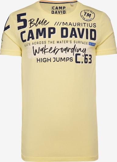 CAMP DAVID Tričko - žlutá, Produkt