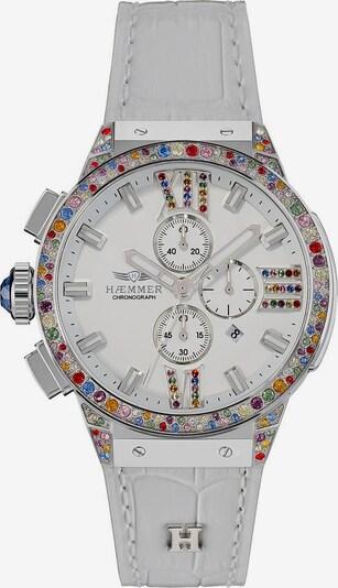 HAEMMER Uhr in grau / silber / weiß, Produktansicht