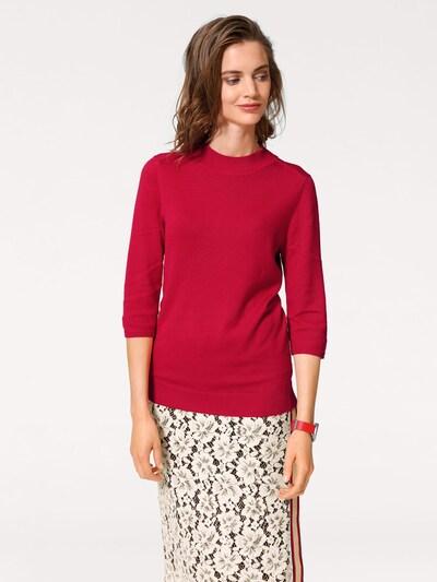 heine Pullover in rot, Modelansicht