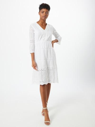 ZABAIONE Kleid 'Ayana' in weiß, Modelansicht