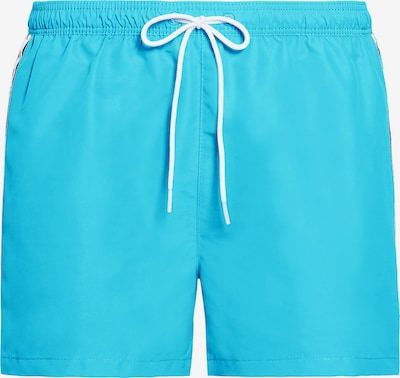 Calvin Klein Swimwear Swim Shorts 'Core Mono Tape' in türkis, Produktansicht